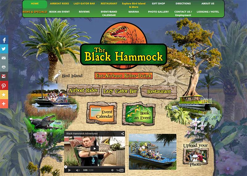 black hammock adventures website example bar website custom design corporate branding  puter repair orlando  rh    puterrepairorlando biz